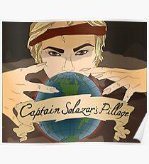 Captain Salazar's Pillage Poster
