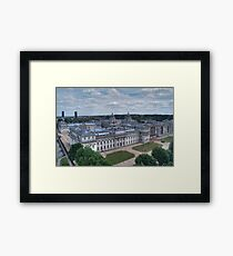 Greenwich College Framed Print