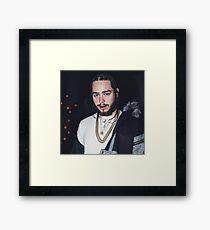 Malone Framed Print