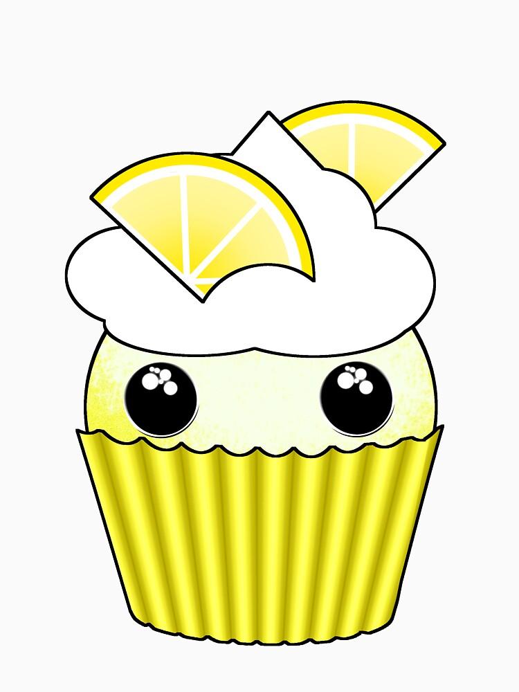 Cute Lemon Cupcake - Design by Matilda Lorentsson by M-Lorentsson