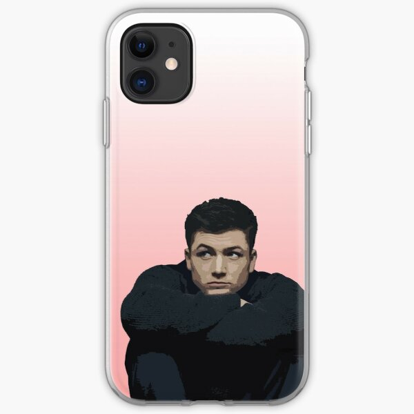 Taron Egerton 3 iPhone Soft Case