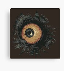 Zombie Eye Canvas Print