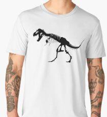 T REX, SKELETON, Tyrannosaurus Rex, Dinosaur  Men's Premium T-Shirt