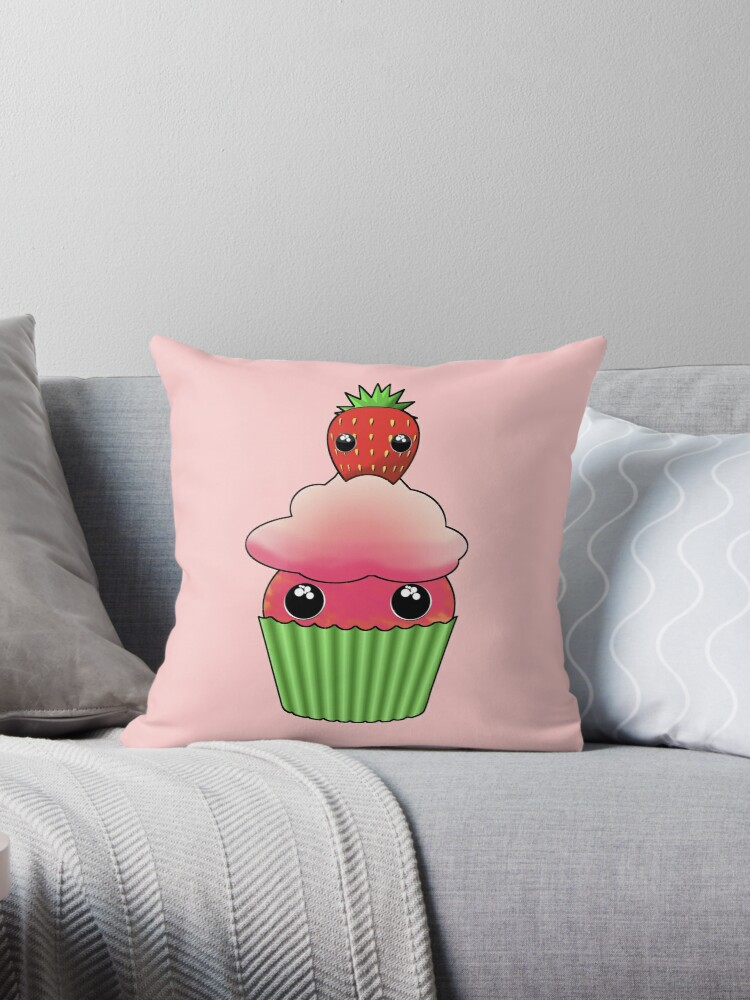 Cute Strawberry Cupcake - Design by Matilda Lorentsson by M-Lorentsson