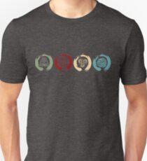 Avatar Inspired Zen Elemental Ensos T-Shirt