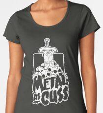 Metal as Cuss Women's Premium T-Shirt