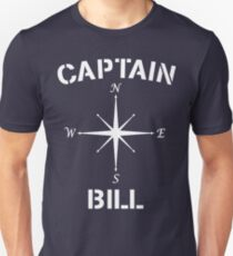 Nautical Captain Bill Compass T-Shirt