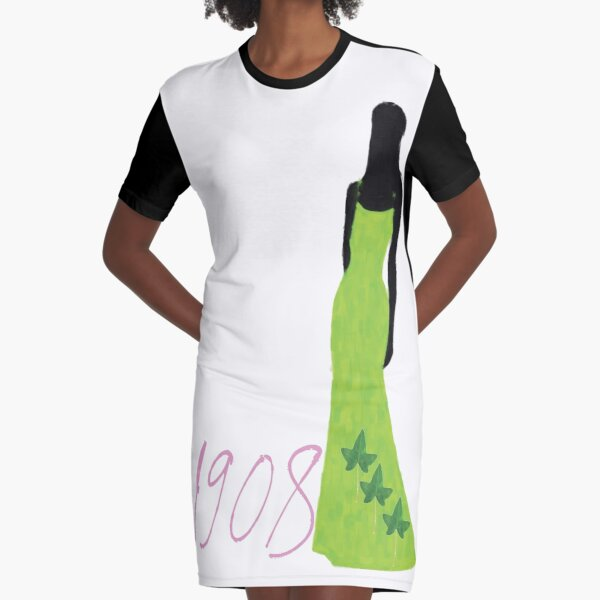Pretty Girl 1908 by HeavenNezCree Graphic T-Shirt Dress
