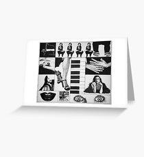 Tori Amos illustrated Mix Greeting Card