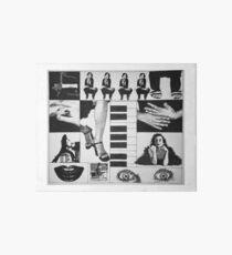 Tori Amos illustrated Mix Art Board