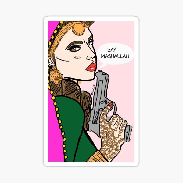 Say Mashallah - 2 Sticker