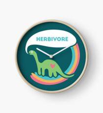 Reloj Dinosaurio herbívoro