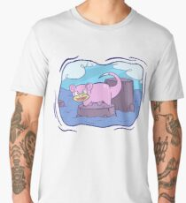 Stranded Slowpoke Pokemon Men's Premium T-Shirt