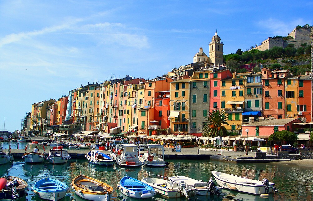 Quot Portovenere Italy Quot By Sylviacook Redbubble