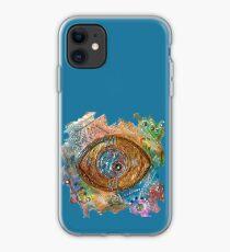 GOLDEN STEAMPUNK EYE iPhone Case