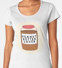 Peanut Butter Lover Women's Premium T-Shirt