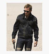James Bond 007 Daniel Craig Quantum of Solace, Skyfall, Casino Royale Photographic Print