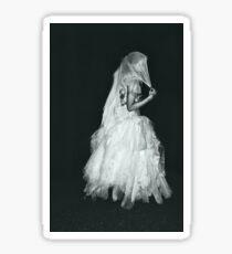 Haunted Bride Walks Alone Sticker