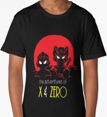 The adventures of X and Zero Long T-Shirt