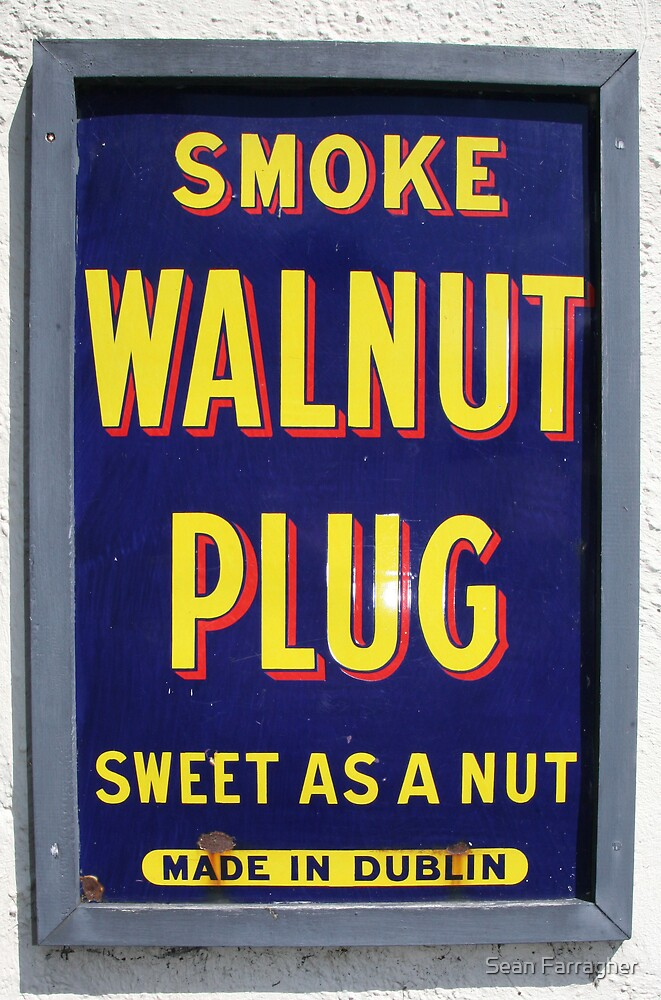 OLD TOBACCO SIGN by Sean Farragher