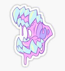 Pastel Chomp Sticker
