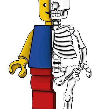 """""""Lego anatomy"""" by 0990dav"""