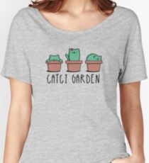 CATcus cactus cat plant garden hipster kitty Women's Relaxed Fit T-Shirt