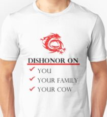 Mushu Dishonor T-Shirt