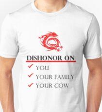 Mushu Dishonor Unisex T-Shirt