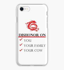 Mushu Dishonor iPhone Case/Skin