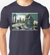 Decayed Sculpture in Ancient Agrigento, Sicily T-Shirt