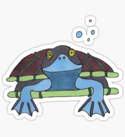 Turtle smile Sticker