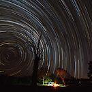 Star Trails -Fletcher Creek - Queensland by Frank Moroni