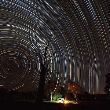 Star Trails -Fletcher Creek - Queensland by moronif