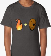 Fire + Fury! Long T-Shirt