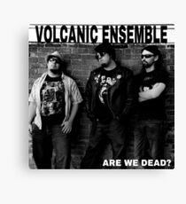 Volcanic Ensemble, Ramones parody  Canvas Print
