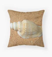 Spiral Shell Throw Pillow