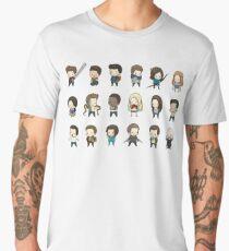 Teen Wolf Chibi Set Men's Premium T-Shirt