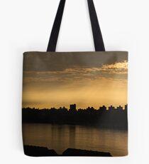 Enlightened City Tote Bag