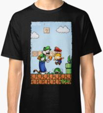 Super Calvin and Hobbes Bros. Classic T-Shirt