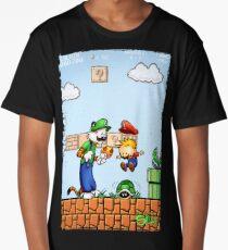 Super Calvin and Hobbes Bros. Long T-Shirt