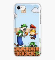 Super Calvin and Hobbes Bros. iPhone Case/Skin