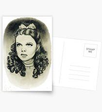 Zauberer von Oz Dorothy Postkarten