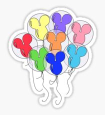 Bundle of Balloons Sticker