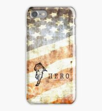 American Firefighter Hero iPhone Case/Skin
