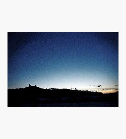 Trosky at dusk, Czech Republic Photographic Print