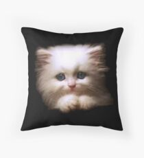 Cat Bed & Throw Pillows Throw Pillow