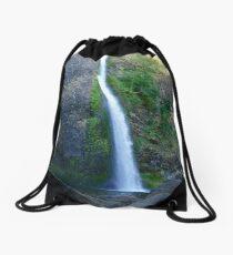 Rocky Horsetail Drawstring Bag