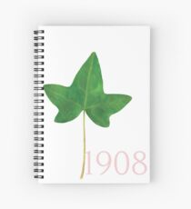 1908 Ivy by HeavenNezCree Spiral Notebook
