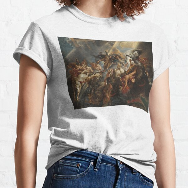 The Fall of Phaeton Oil Painting by Sir Peter Paul Rubens Classic T-Shirt